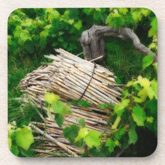 Grape vines coaster