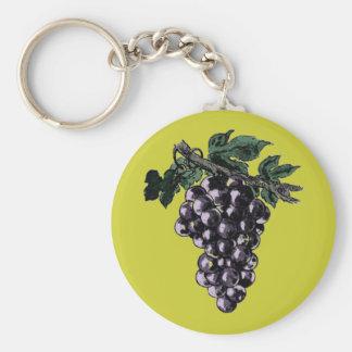 Grape Vines Keychain