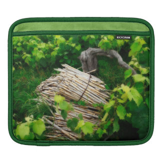 Grape vines sleeve for iPads