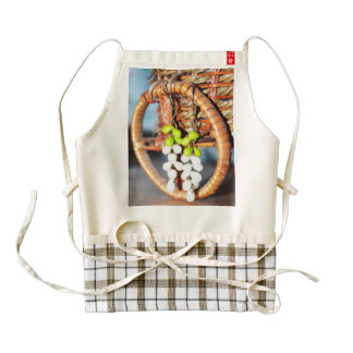 Grape Zazzle HEART Apron