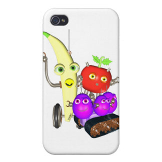 GrapeBot BananaBot Cases For iPhone 4