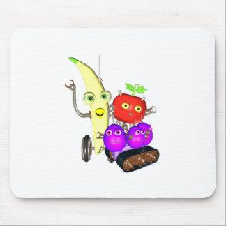 GrapeBot BananaBot Mouse Pad