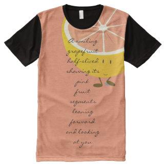 Grapefruit - as poetry T-shirt