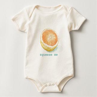 Grapefruit Baby Bodysuit