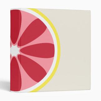 Grapefruit Binder