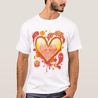 Grapefruit Heart (Version 2) T-Shirt