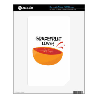 Grapefruit_Love Decal For NOOK Color