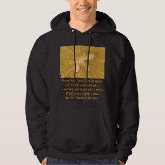 Grapefruit mens hoodie