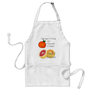 Grapefruit & Orange Juice Adult Apron