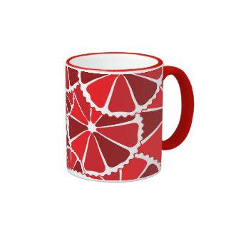 Grapefruit slices mug