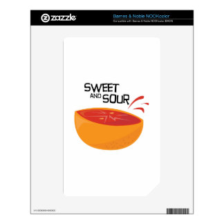 Grapefruit_SweetSour Skins For The NOOK Color