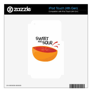 Grapefruit_SweetSour iPod Touch 4G Skin