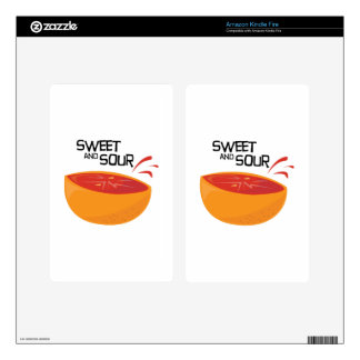 Grapefruit_SweetSour Skin For Kindle Fire