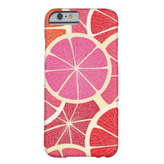 Grapefruit vintage background barely there iPhone 6 case