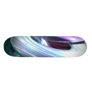 Grapes and Cream Abstract Skateboard V2