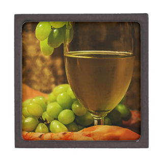 Grapes and Juice Jewelry Box