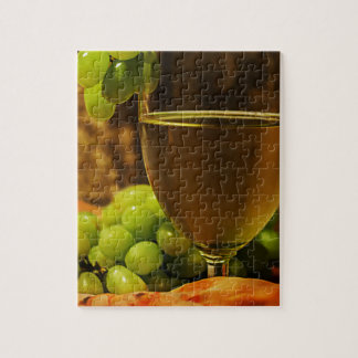 Grapes and Juice Jigsaw Puzzle