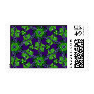 Grapes and Leaves Lg Any Color Postage