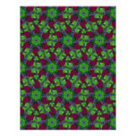 Grapes and Leaves Lg Any Color Scrapbook Paper Personalized Letterhead