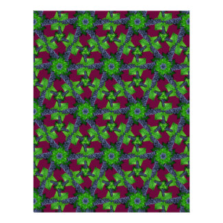 Grapes and Leaves Lg Any Color Scrapbook Paper Letterhead