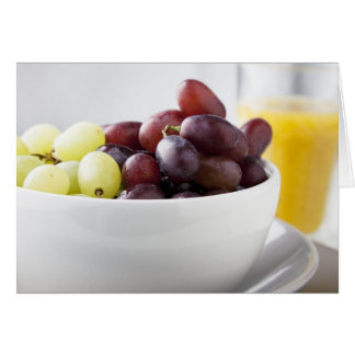 Grapes and Orange Juice Cards
