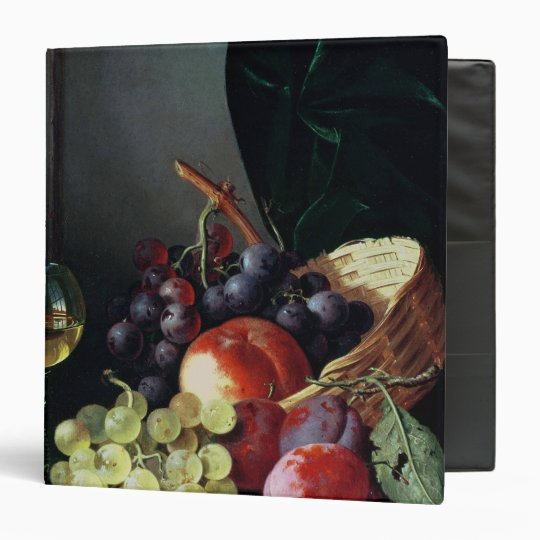 Grapes and plums binder