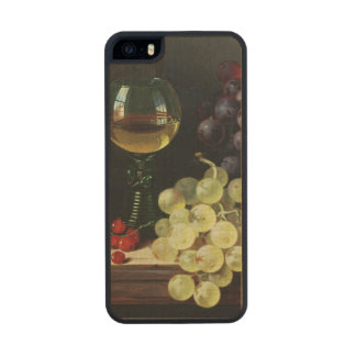 Grapes and plums carved® maple iPhone 5 slim case