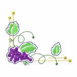 Grapes Art Nouveau Polo