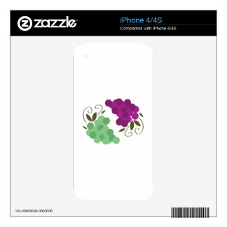 Grapes_Base iPhone 4S Skins