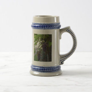 Grapes Beer Stein