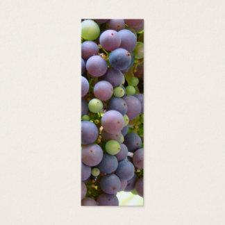Grapes Bookmarks Mini Business Card