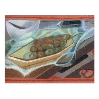 Grapes by Juan Gris Postcard