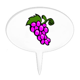 Grapes Cake Topper