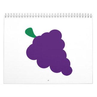Grapes Wall Calendar