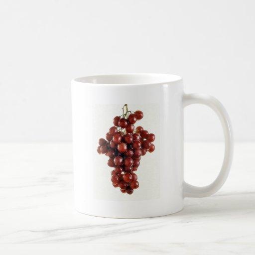 GRAPES CLASSIC WHITE COFFEE MUG