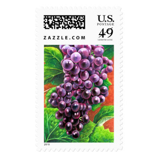 Grapes Cluster Stamps