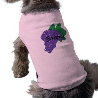 Grapes Dog T Shirt
