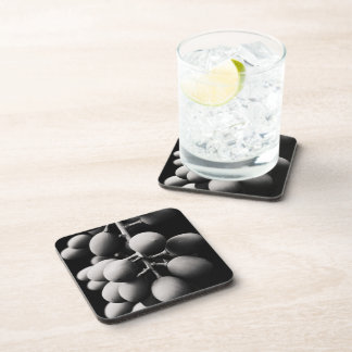 grapes for a sour day beverage coaster