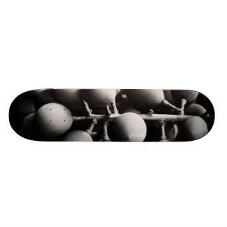 grapes for a sour day custom skateboard