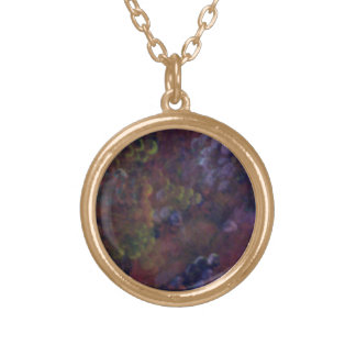 Grapes Gold Plated Necklace