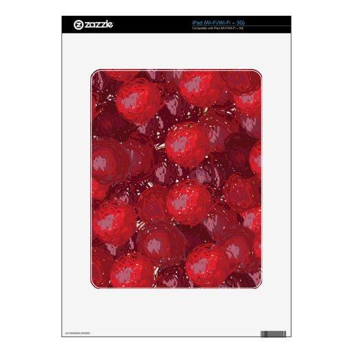 grapes iPad decals