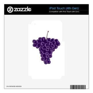 Grapes: iPod Touch 4G Decals