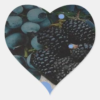 grapes.JPG image for decor Heart Sticker