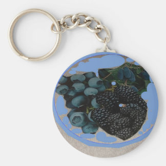 grapes.JPG image for decor Basic Round Button Keychain