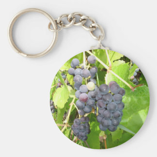 Grapes Keychain