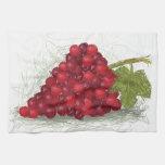 grapes kitchen towels