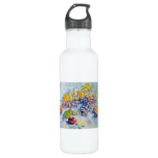 Grapes, Lemons, Pears and Apples Vincent van Gogh Stainless Steel Water Bottle