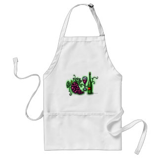 Grapes n Wine Adult Apron