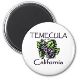 Grapes of Temecula Magnets