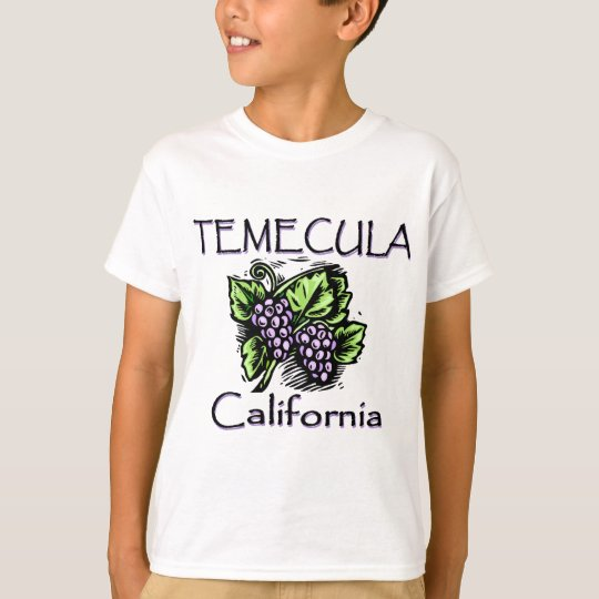 Grapes of Temecula T-Shirt